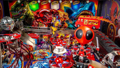 Stern Pinball's new Deadpool game