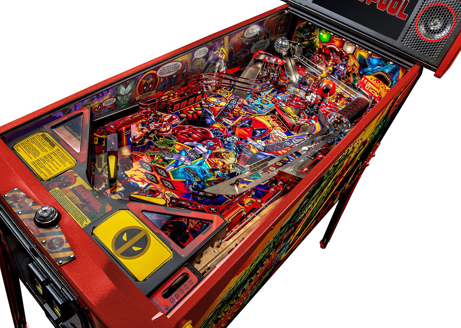DEADPOOL REVEALED – Welcome to Pinball News – First & Free