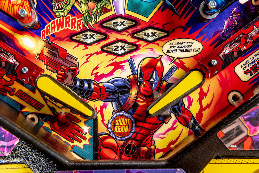 No, not a movie-themed pin, but it probably wouldn't exist without the success of the Deadpool movies