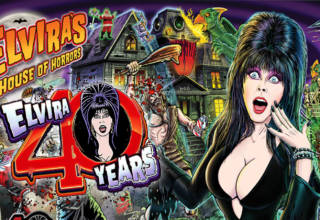 Stern's new 40th Anniversary Edition of Elvira's House of Horrors