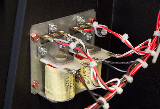 Two coils in the backbox