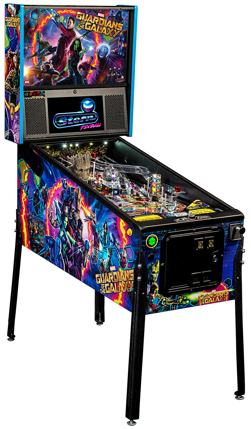 GUARDIANS OF THE GALAXY REVEALED – Welcome to Pinball News ...