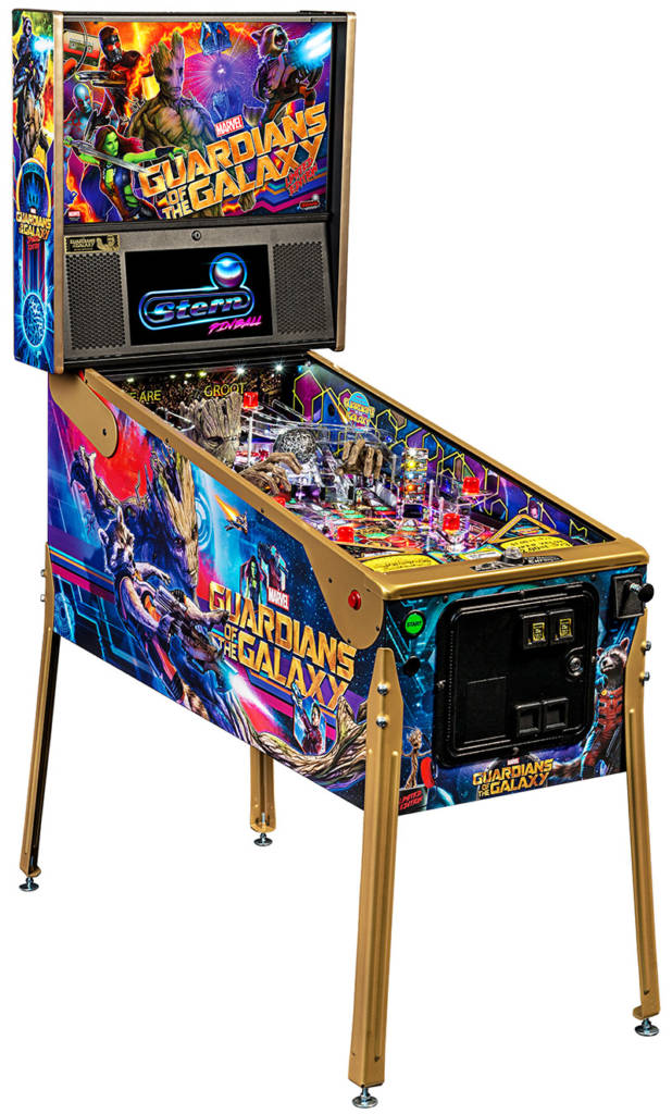 Guardians of the Galaxy Limited Edition cabinet