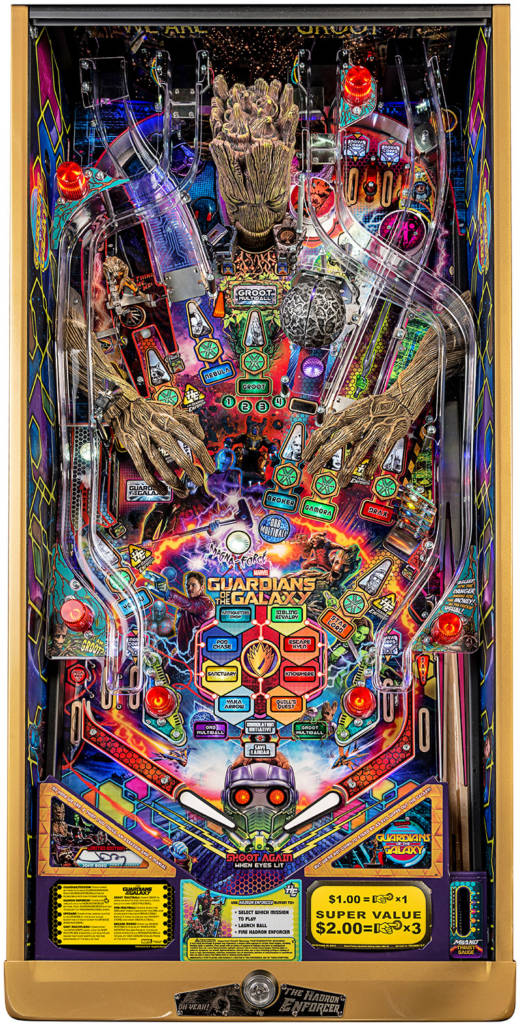 Guardians of the Galaxy LE playfield