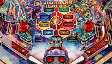 Stern's Guardians of the Galaxy pinball