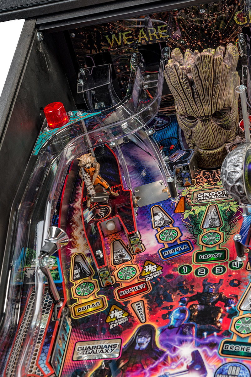 GUARDIANS OF THE GALAXY REVEALED – Welcome to Pinball News – First