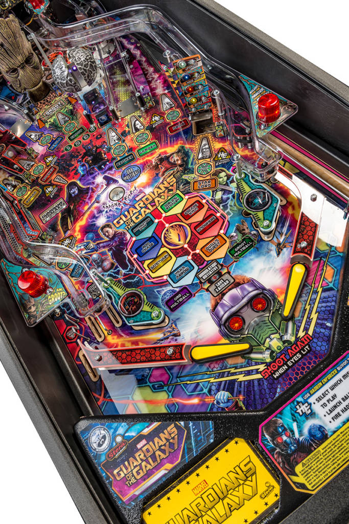Pro playfield details