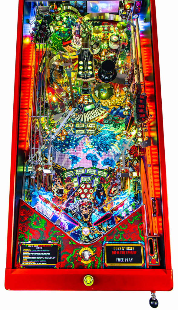 The playfield from the Limited Edition