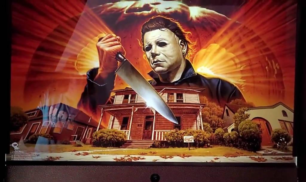 The Halloween backbox image