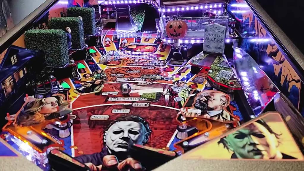 The Halloween playfield