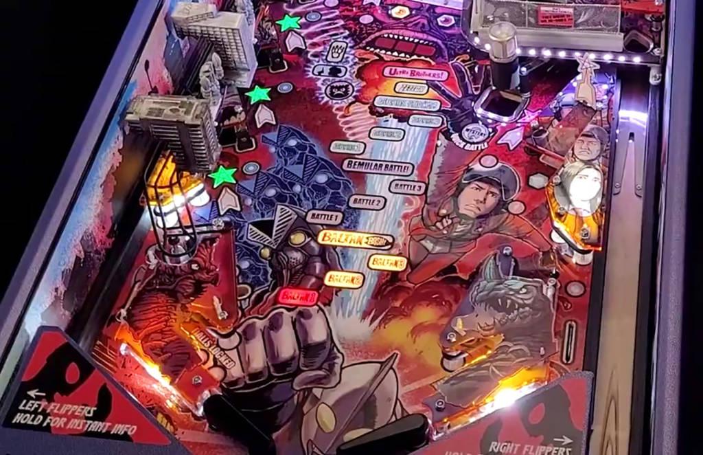 The Ultraman playfield