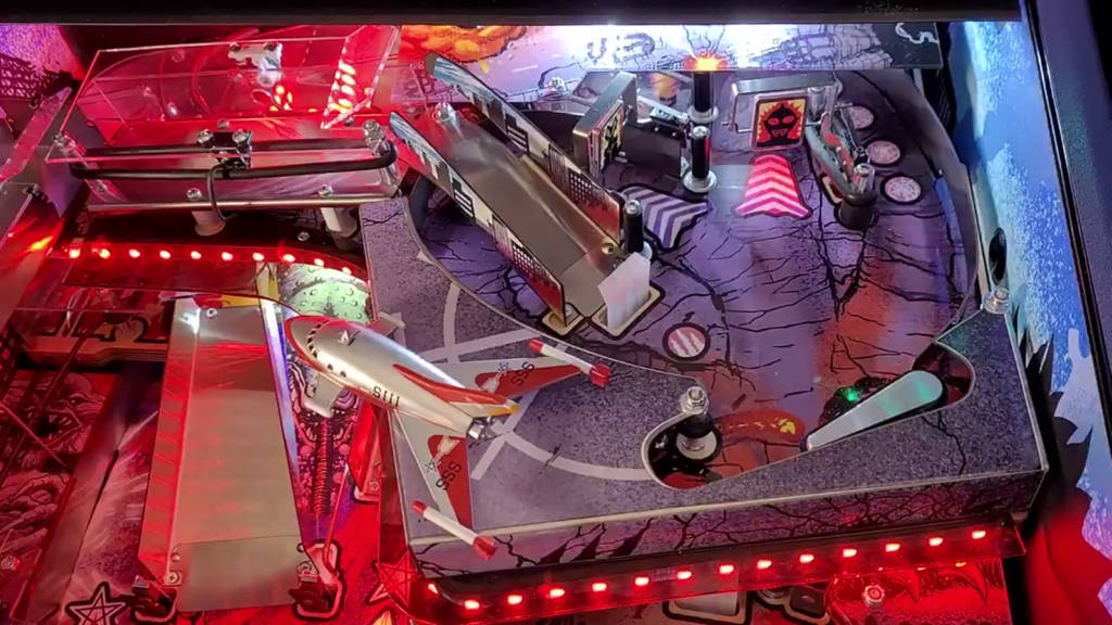 The exit to the third upper playfield