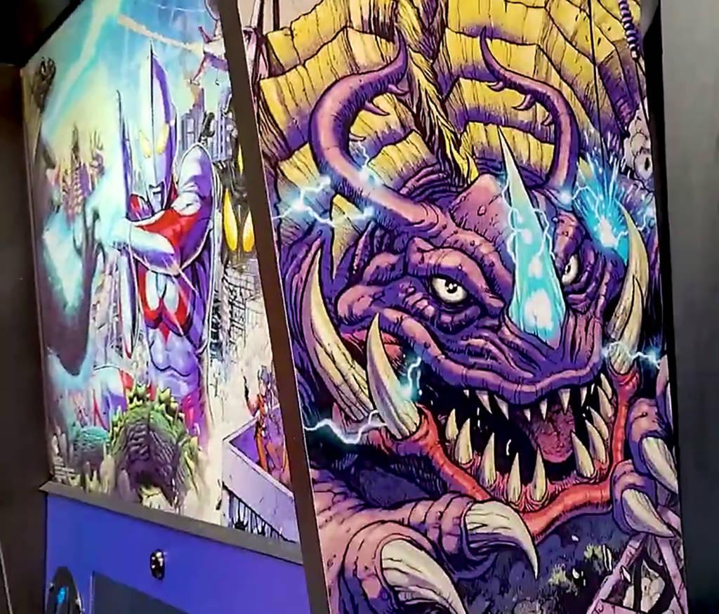 Ultraman backbox artwork
