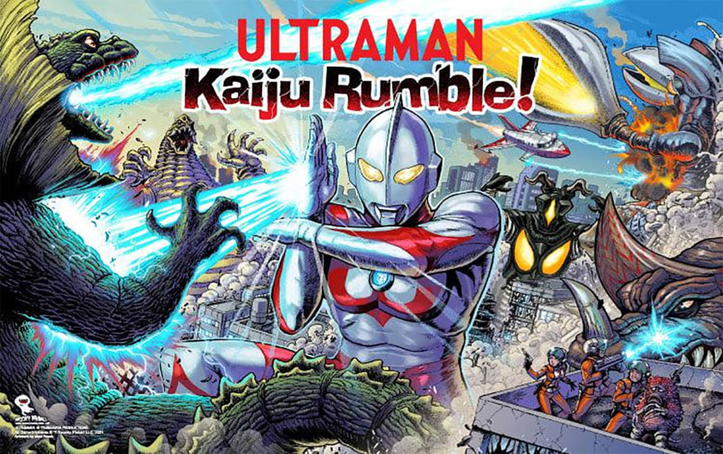 The Ultraman translite artwork