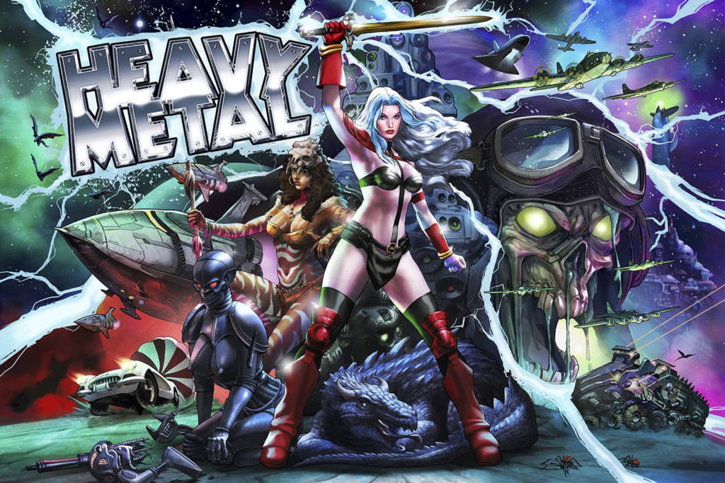 Stern Pinball and Incendium's Heavy Metal pinball