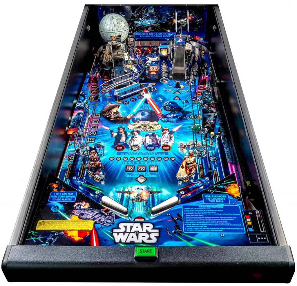 Star Wars Pin's playfield