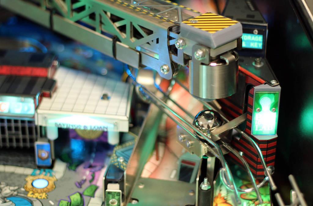 The crane mechanism