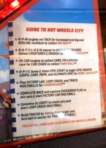 The game's rules guide