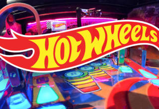 Hot Wheels pinball from American Pinball