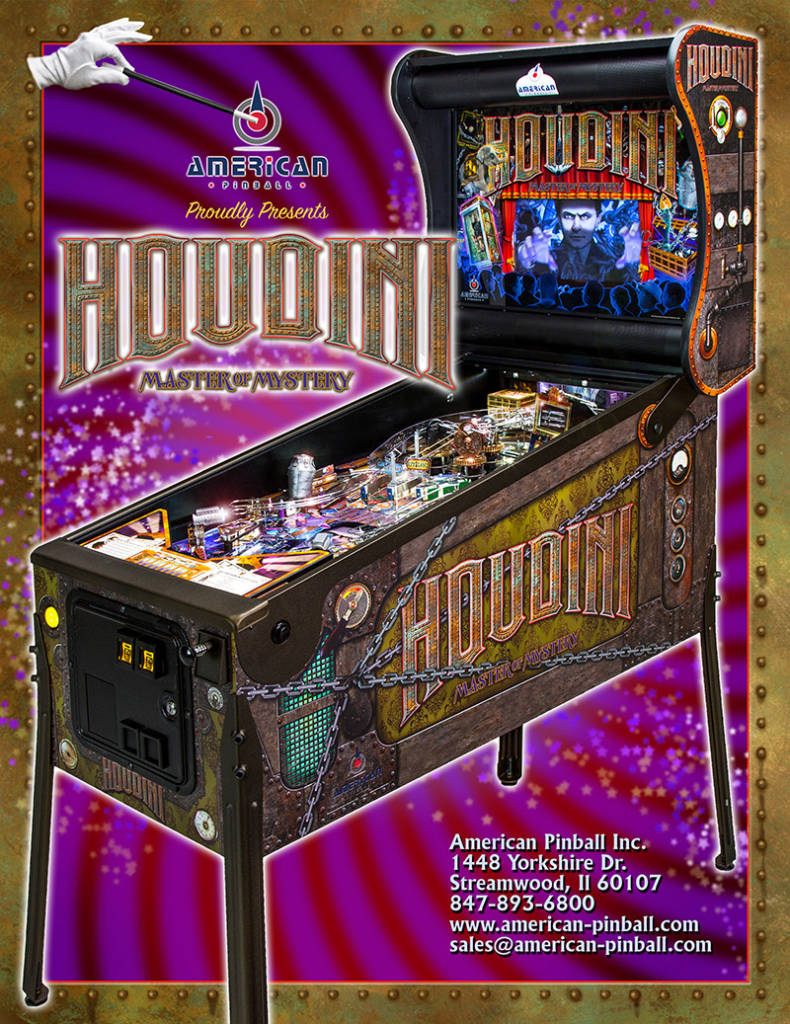 The Houdini flyer's front