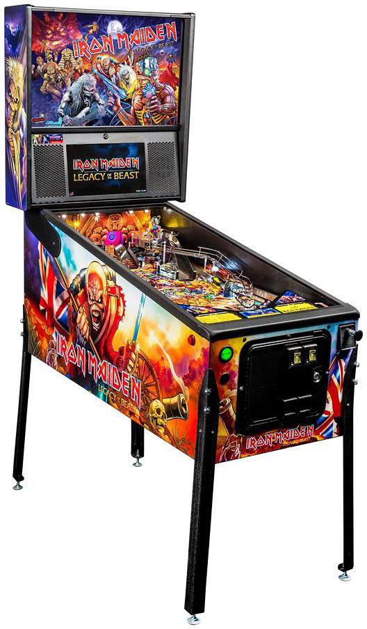 Stern Pinball's Iron Maiden