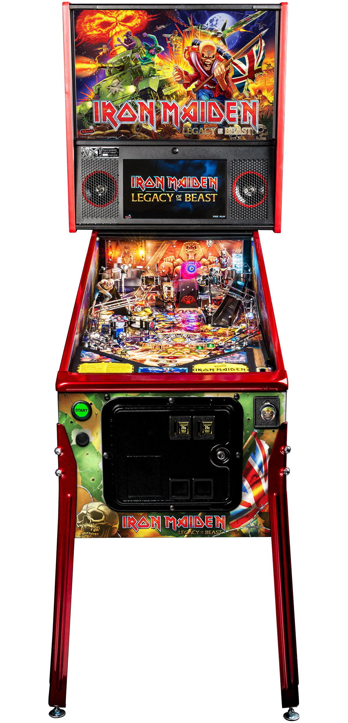 IRON MAIDEN LE UNVEILED – Welcome to Pinball News – First & Free
