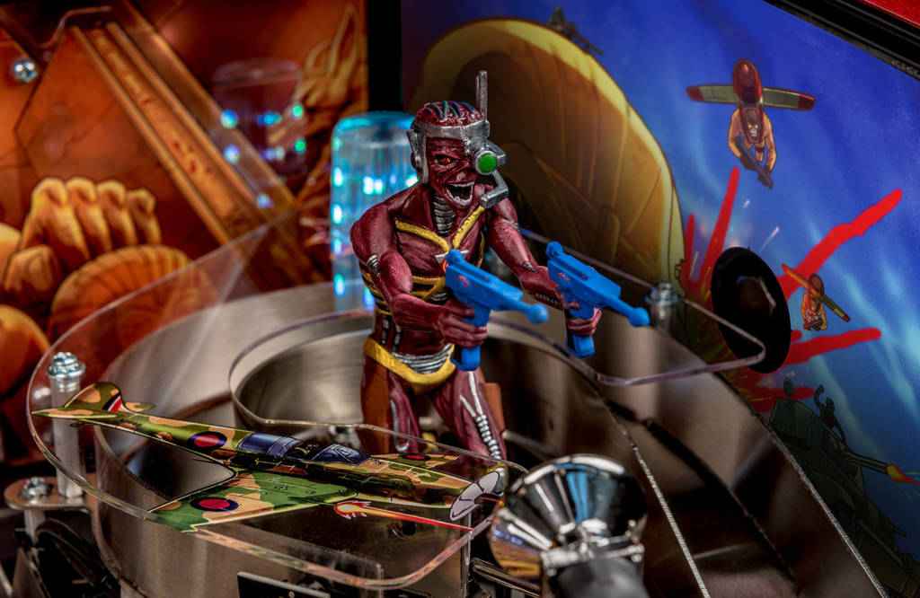 The Cyborg playfield figure