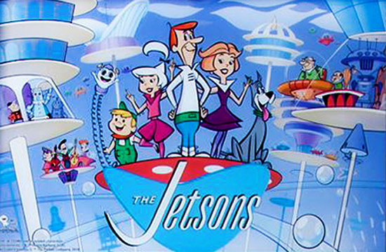 The Jetsons backglass artwork