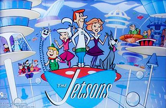 The Jetsons backglass artwork