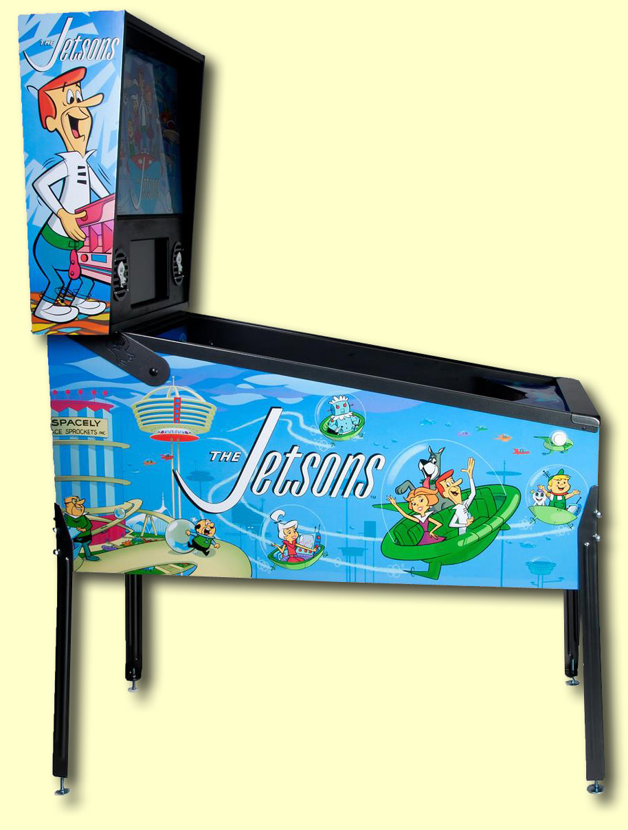 The cabinet and backbox side artwork