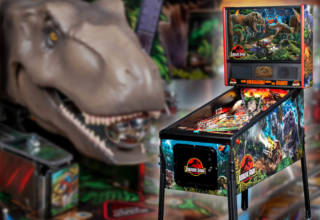 The Jurassic Park Pin game from Stern Pinball