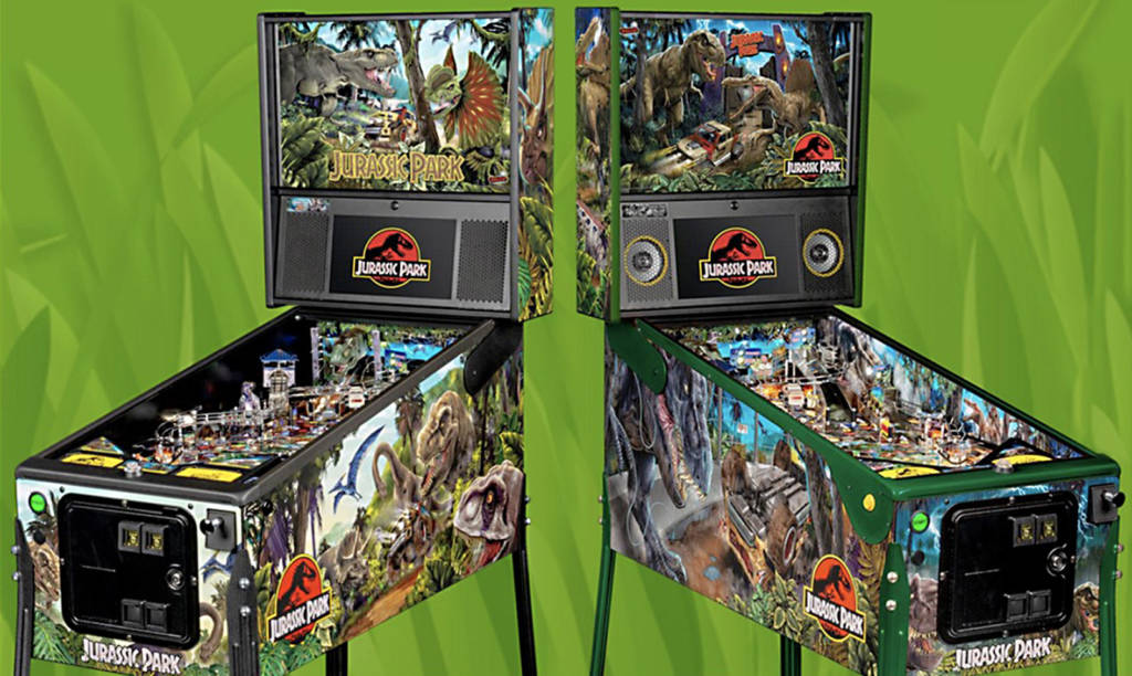 The Pro and LE Jurassic Park games