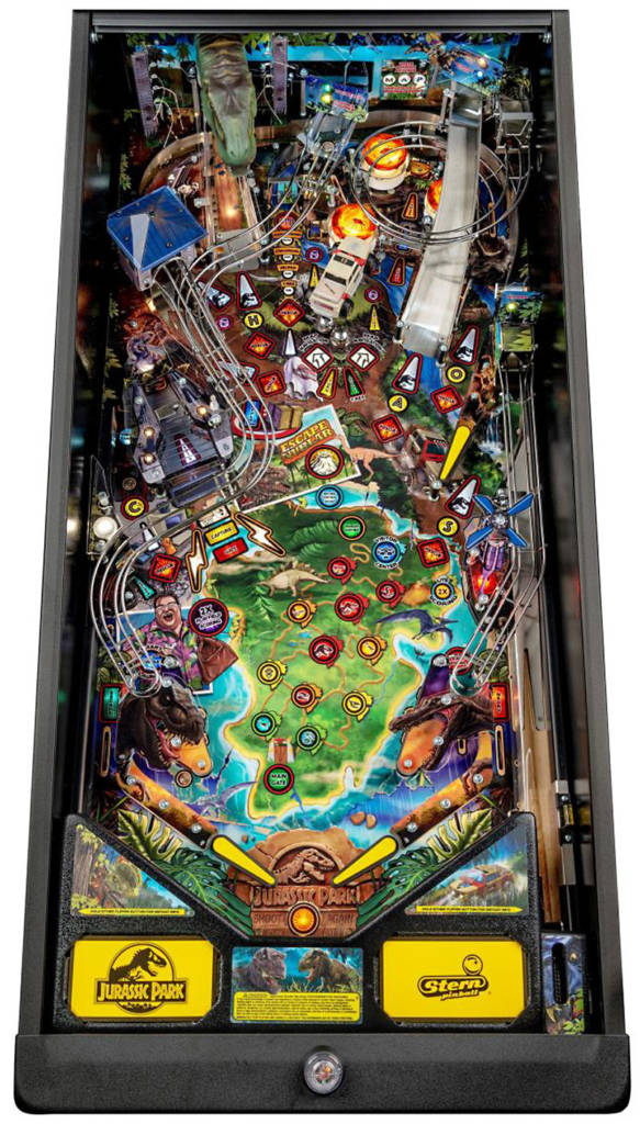 The Pro version's playfield