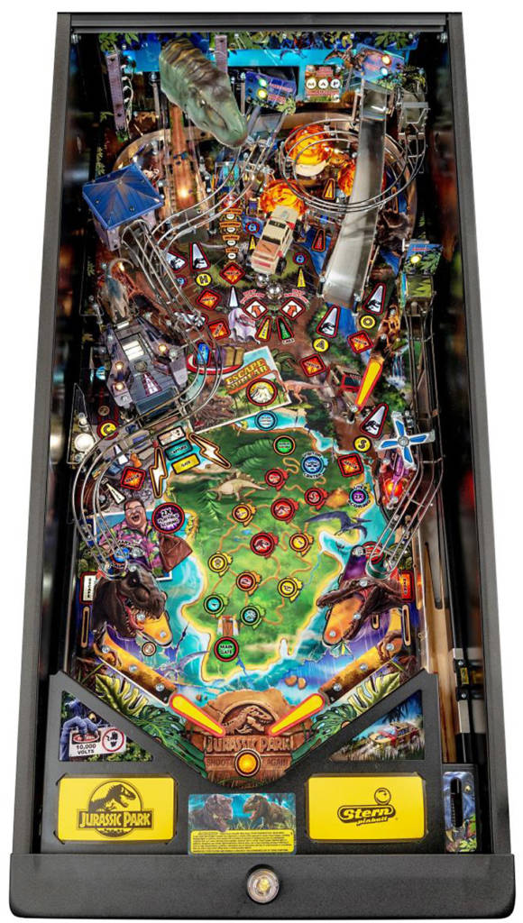 The Premium version's playfield
