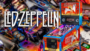 Stern Pinball's new Led Zeppelin game