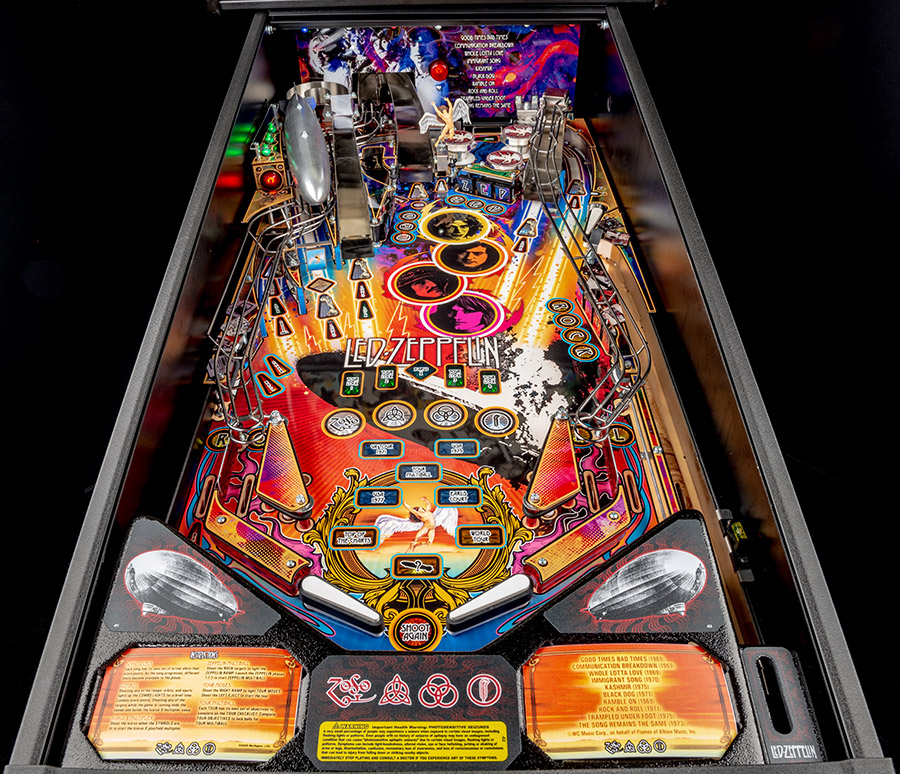 The Pro playfield in the game