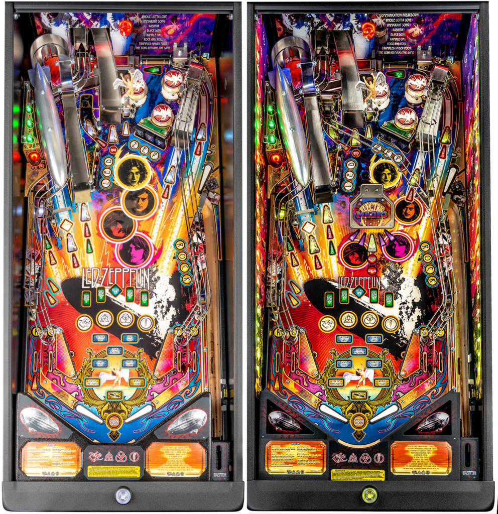 Comparing the Pro and Premium playfields