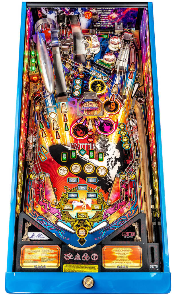 The Limited Edition playfield