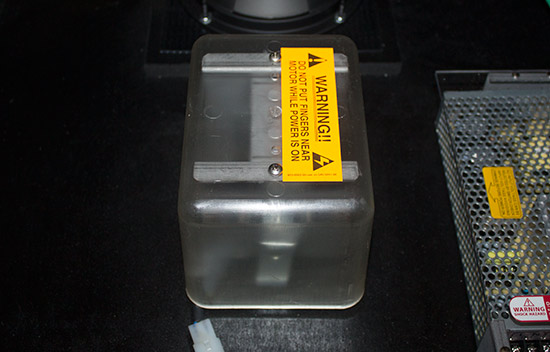 The shaker motor
