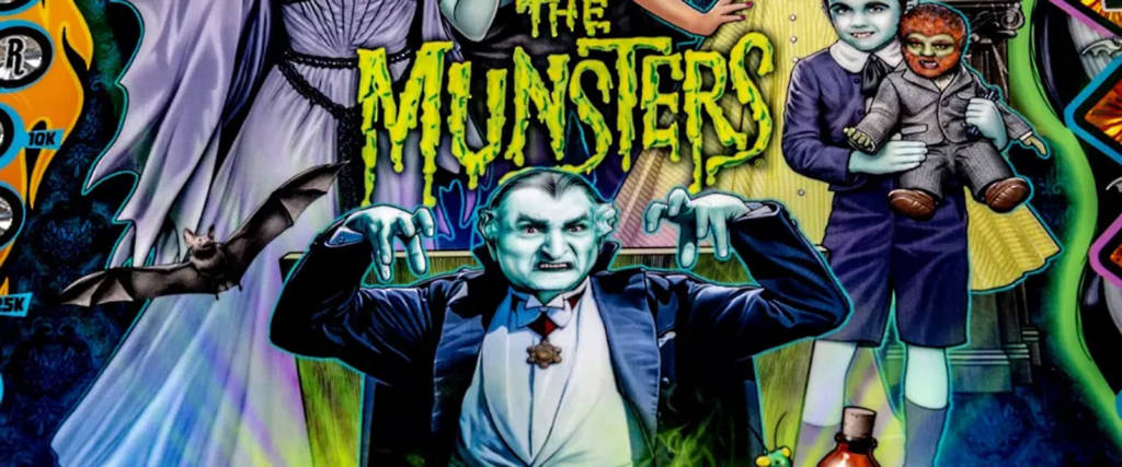 The Munsters, from Stern Pinball
