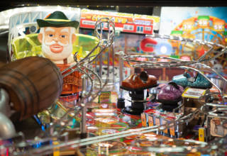 Playfield detail from Oktoberfest: Pinball on Tap