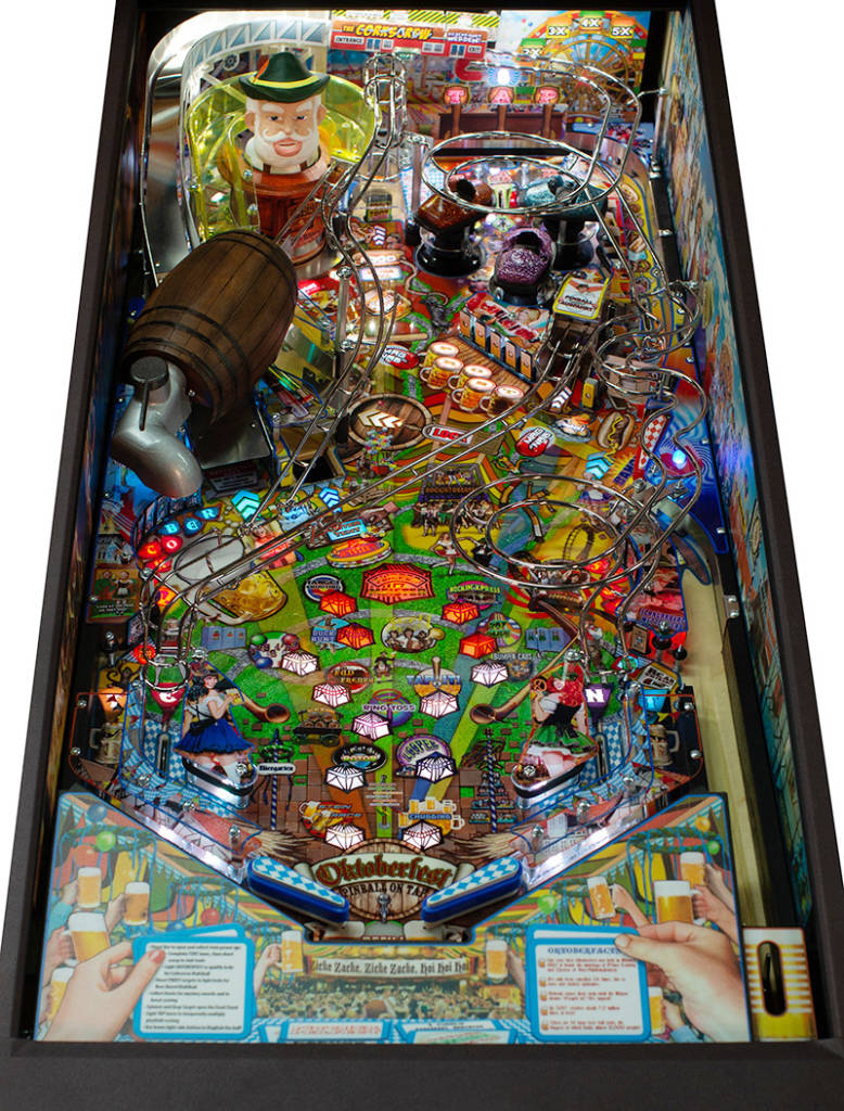 The Oktoberfest playfield