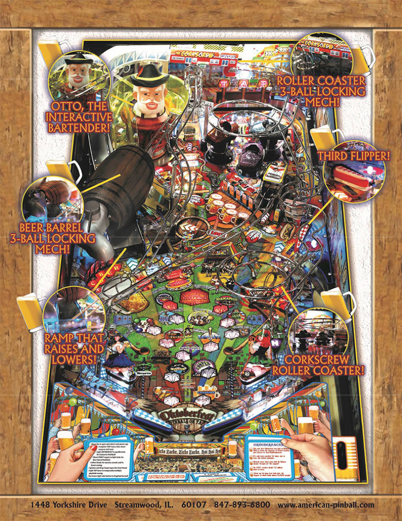 The playfield features on Oktoberfest