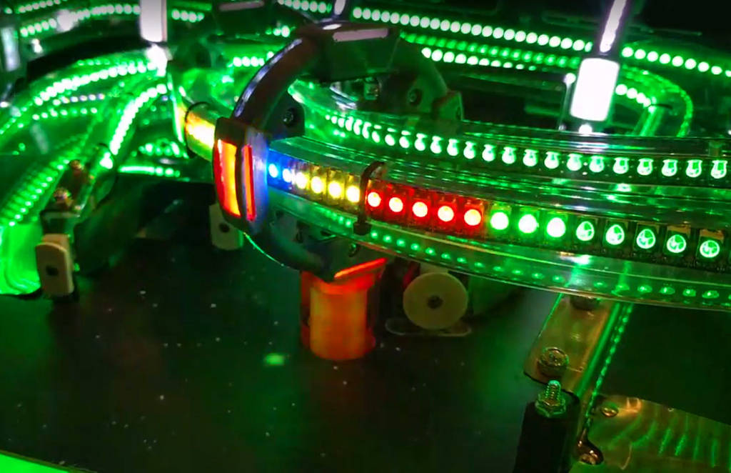 All the LEDs are RGB controllable
