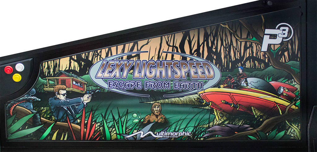 The Lexy Lightspeed: Escape from Earth side art