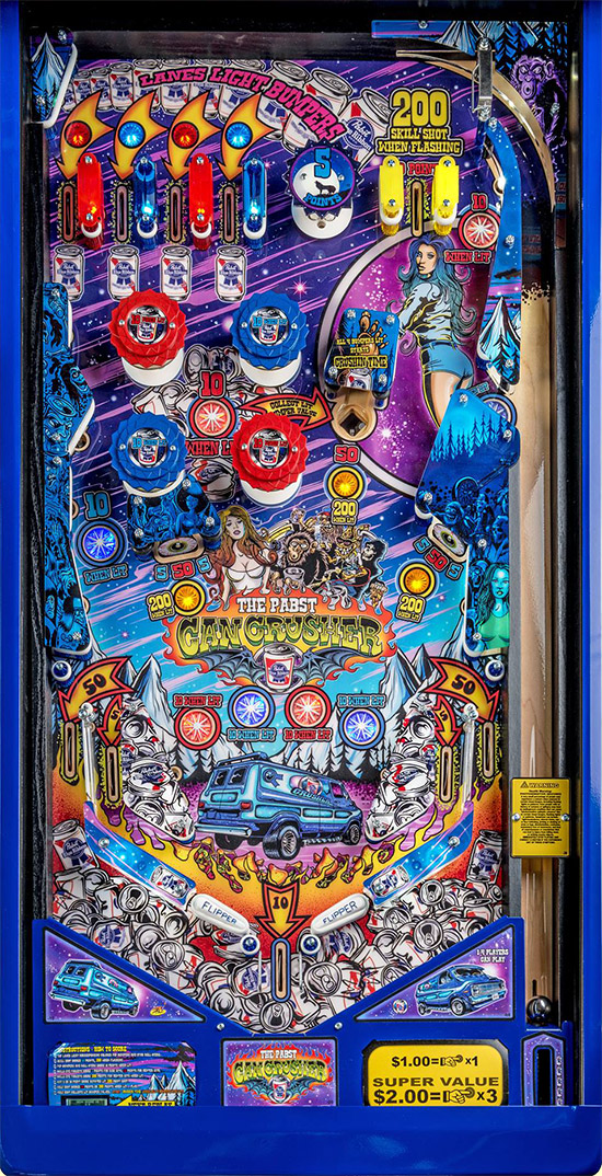 Can Crusher's playfield