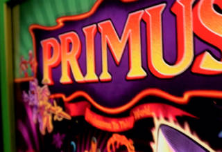 The new Primus pinball from Stern Pinball