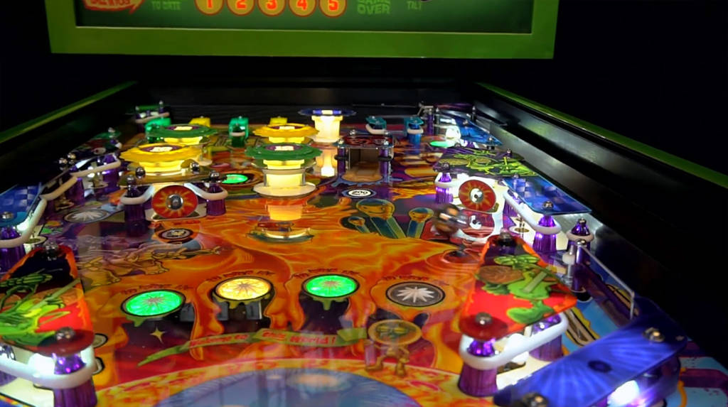 The Primus playfield