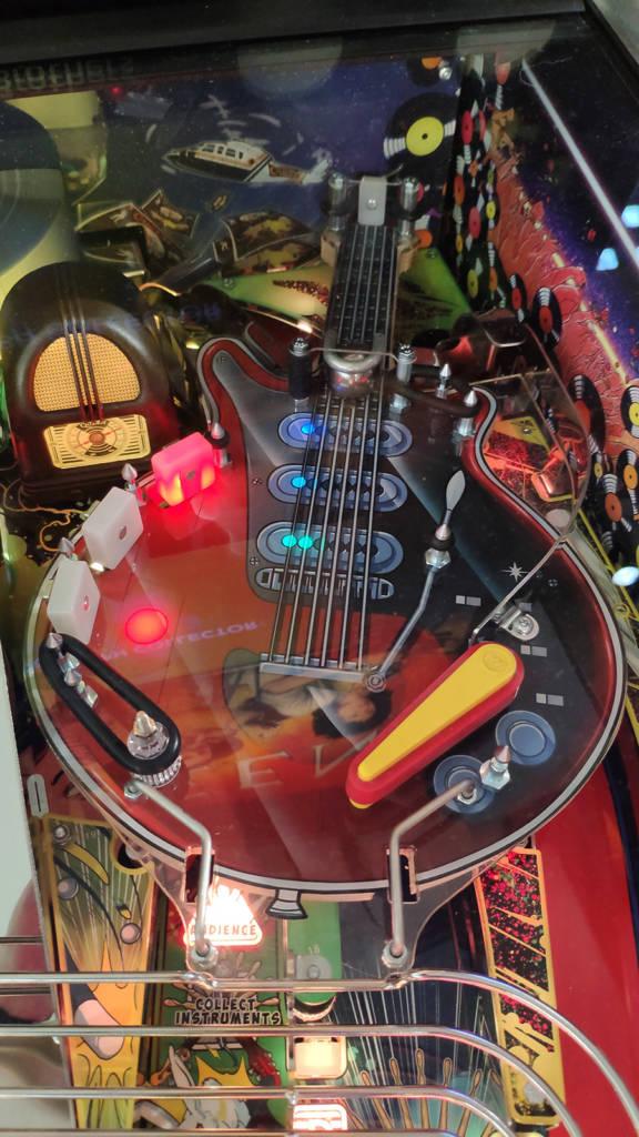 The guitar upper playfield