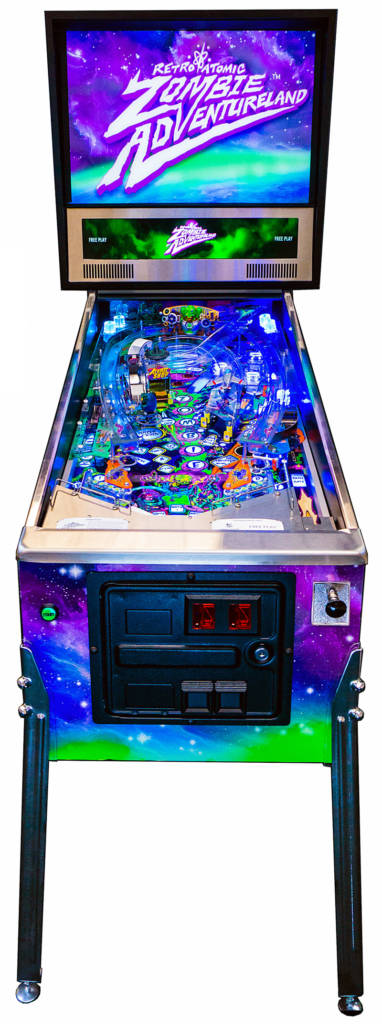 The front view of the game